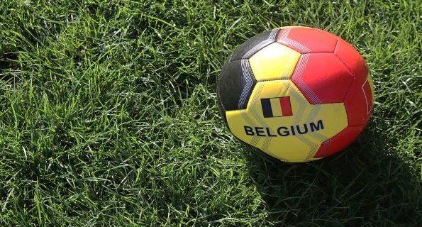 belgian football colours ball